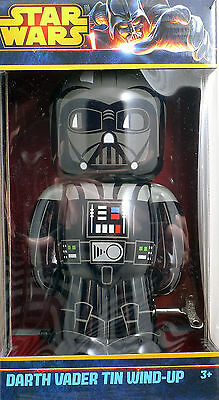 Star Wars Darth Vader Tin Wind-Up Brand New Factory Sealed Schylling