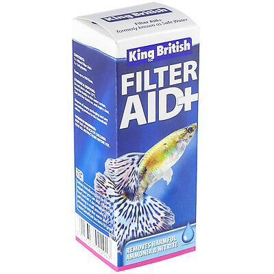 King British Aquarium Treatment Filter Aid 100Ml 5017357022017