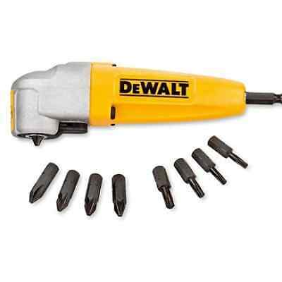 Dewalt DT71517 Right Angle Drill Attachment + 9 Impact Ready Screwdriving Bits