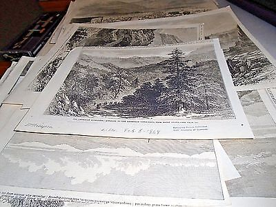 ETHIOPIA - ABYSSINIA London Illustrated News 1868 With 42 Different Wood Blocks