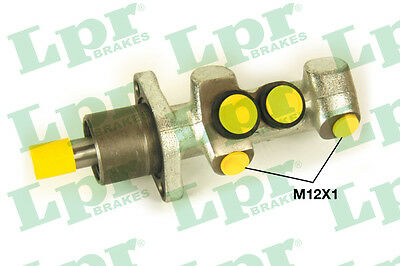 PEUGEOT 406 Brake Master Cylinder 96 to 00 1988 LPR P30031 Quality Replacement
