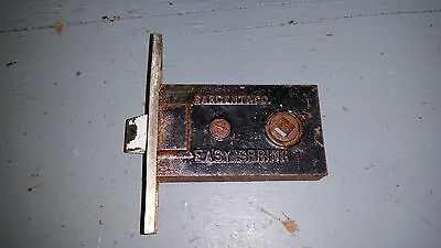 Vintage Sargent Easy Spring Mortise Door Lock Latch