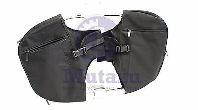 Mutazu Soft Lowers Chaps Leg Warmer for Harley Touring model OEM Engine Guard