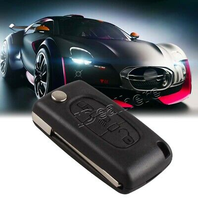 Car 3 Button Flip Remote Key Fob Case Shell Fit for Citroen C3 C5 C6 C4 Picasso