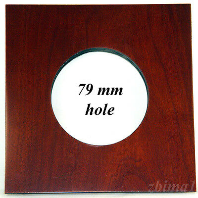 """1 Lens Board 6""""x 6"""" for 2D Eastman, or Burke&James 8""""x 10""""- of Plywood/79mm hole"""