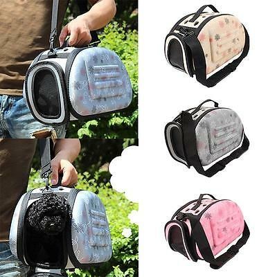 2016 New Pet Small Dog Cat Sided Carrier Travel Tote Shoulder Bag Cage Kennel
