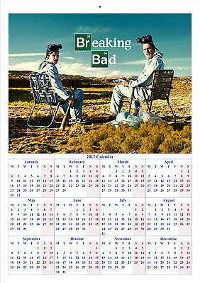Breaking Bad V2 - 2017 A4 CALENDAR **BUY ANY 1 AND GET 1 FREE OFFER**