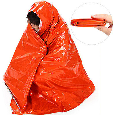 2.1*1.3m Thicken Warming Emergency Blanket Outdoor Survival First Aid Medical