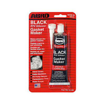 Abro BLACK RTV Silicone Instant Gasket Maker Sealant Adhesive Water Proof 42g