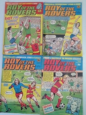 Roy Of The Rovers Comic ~ 4 Editions From April 1985 ~ Free Postage