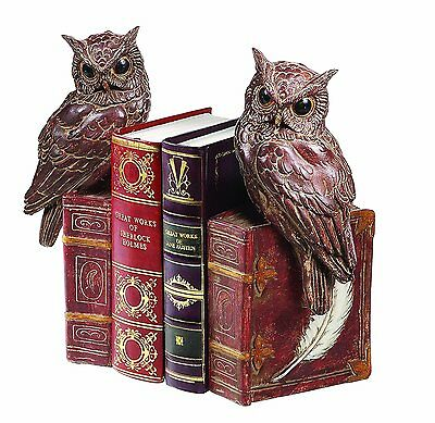 Creative Co-Op Owl Bookends - Usually ships in 12 hours!!!