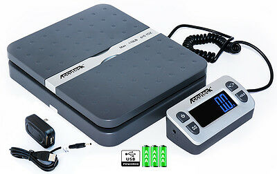 Accuteck ShipPro W-8580 110lbs x 0.1 oz Gray Digital shipping postal scale