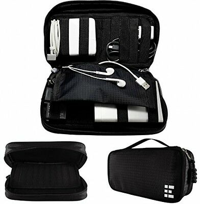 Universal Travel Cord Organizer - Electronics Accessories Case & Cable Holder MD