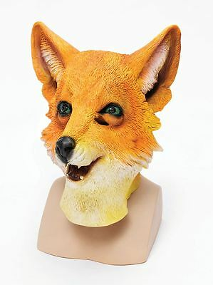Fantastic Mr Fox Overhead Rubber Adult Animal Mask Fancy Dress Costume Accessory