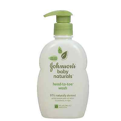 JOHNSON'S Baby Naturals, Head-to-Toe Wash 9 oz