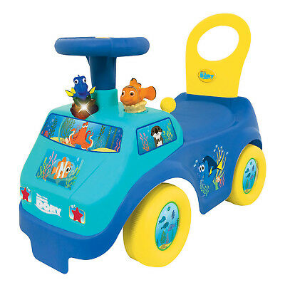 Kiddieland Light n' Sound Activity Dory's Ride On Kid Toy Car, Blue | 053934