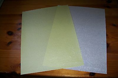 2 Sheets Silvery Pearl Paper 58 Gsm (B28)  New  A4