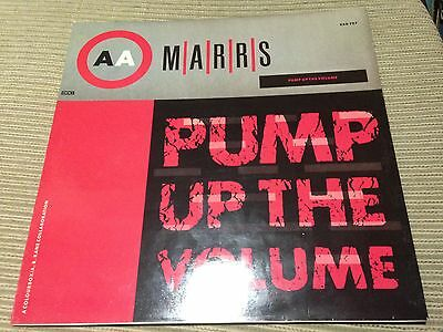 "Marrs - Pump Up The Volume 12"" Maxi Germany Rough Trade 4Ad Synth Pop"