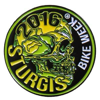 lot 3 men Sturgis 2016 patch sticker /& can koozie 76th motorcycle rally NEW gift