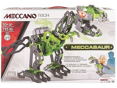 NEW Meccano Meccasaur T - Rex from Mr Toys Toyworld