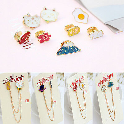 Fashion Cute Creative Lovely Collar Pin Badge Corsage Cartoon Brooch Jewelry