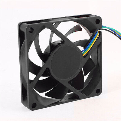 70mm 7cm 12V 4Pin PWM Hydraumatic Cooling Fan for Computer CPU Cooler PC Case