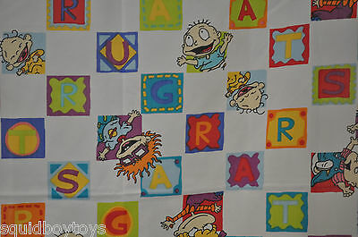 - RUGRATS Flat BED SHEET 1999 Viacom -