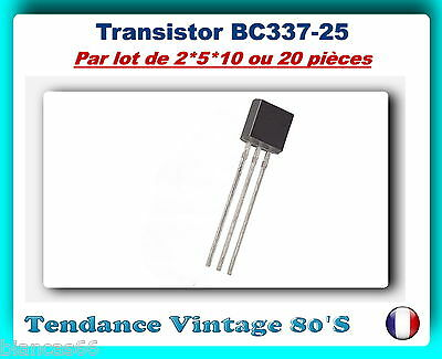 BF423 *** *** LOT AU CHOIX DE 2 5 OU 10 TRANSISTORS NPN TO92//250V