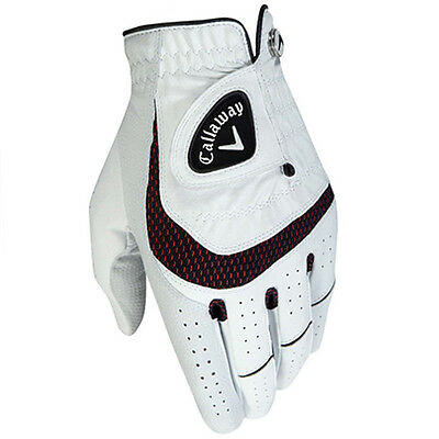 Callaway Syn Tech Golf Glove, Ladies Sizes, Left Hand For Right Handed Golfer