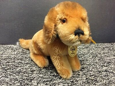 Steiff Dachshund Dog Plush Toy. All Original Id's (A14)
