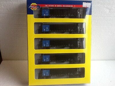 ATHEARN 11701 Rio Grande 50' Thrall High-Side Coal Gondola N Gauge