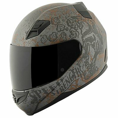 Speed & Strength SS1200 Rust and Redemption Full Face Helmet