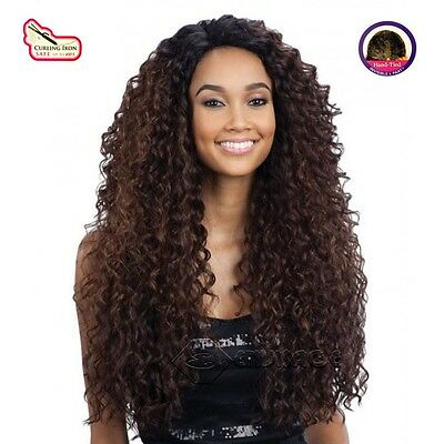 Freetress Equal Synthetic Deep Invisable L Part Lace Front Wig - Kitron