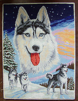 White Nights - Finished completed Cross Stitch (Rogoblen 5.21)