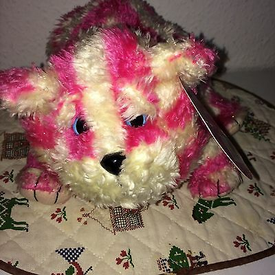 """Golden Bear Bagpuss soft toy 10"""" 2002 With Original Tags"""