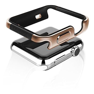 GOLD ALUMINUM Hard Cover Protector Case Bumper Skin For iWatch 42MM APPLE WATCH