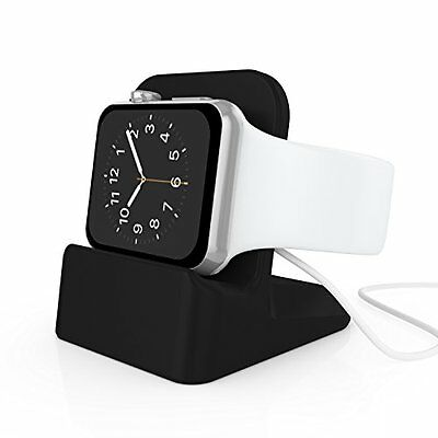 MIDNIGHT BLACK Stand Charger Charging Dock Station For iWatch APPLE WATCH