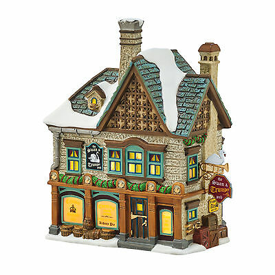 Dept 56 Dickens Village The Swan & Trumpet Pub 4054962 12 Days of Christmas NEW
