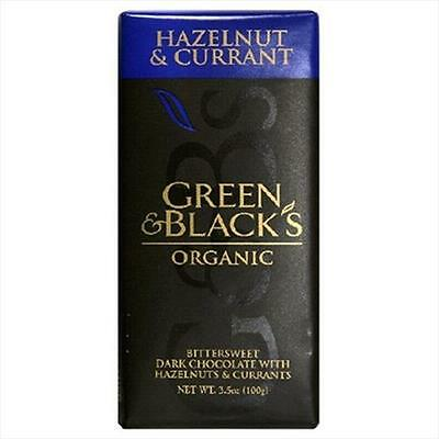 Green Black Chocolate Hazelnut Currant 3.5 Oz -Pack of 10