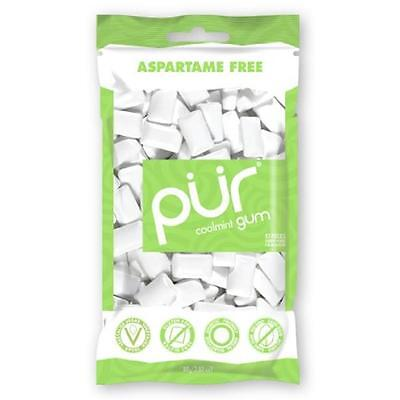 Pur Gum Coolmint 2.8 Ounce (Pack of 12)