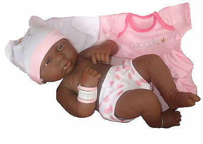 ELC Cupcake Newborn Ethnic Baby Girl Doll Anatomically Correct