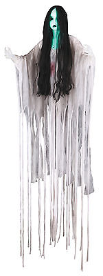 Sonic Long Hair Illuminated Ghost Doll Girl Halloween Decoration Prop NEW
