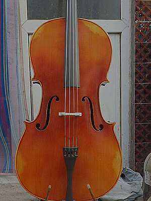 Top grade 4/4 size Cello full Hand made antique old style nice sound No2