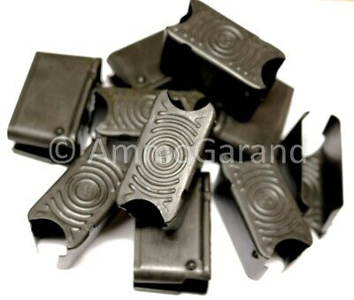 (16ea) M1 Garand Clips 8rd NEW made in US by Govt Contractor 30-06