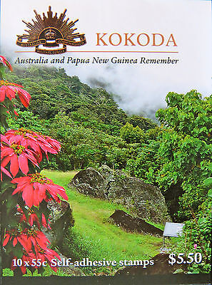 Australian Stamps: 2010 - Kokoda - Australia & PNG Joint Issue Booklet MNH