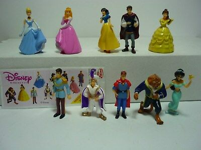 Extra Kinder Ferrero Surprise Figure Cartine Serie Bella Bestia Princess Zaini