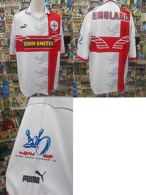 maglia rugby shirt maillot camiseta trikot INGHILTERRA ENGLAND WORLD CUP 1995
