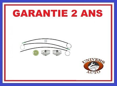 Kit De Reparation Leve Vitre Citroen Berlingo (1996 > 2006 ) Avg Ou Avd