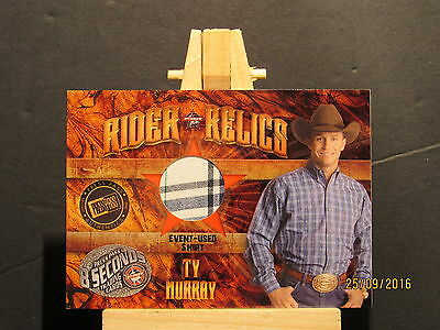 2009 Press Pass 8 Seconds PBR Rider Relics #RRTM1 Ty Murray Shirt