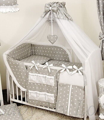 STUNNING /BABY/COT/COT BED BIG CANOPY DRAPE/585cm wide + HOLDER/ROD
